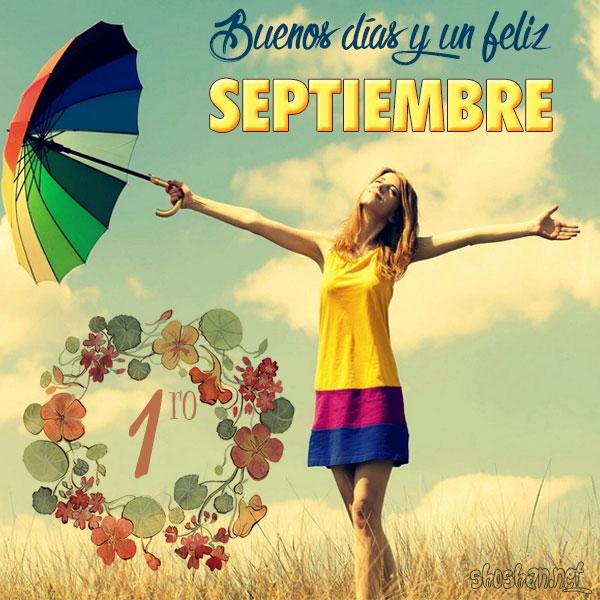 Resultado de imagen de imagenes de feliz septiembre