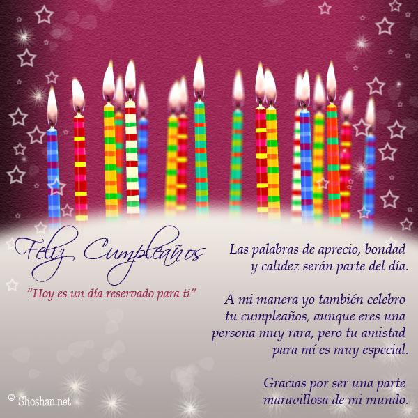 Imagen para compartir y felicitar en el día de Cumpleaños: Aunque