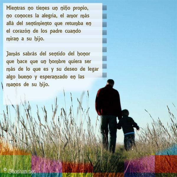 Imagenes Con Mensajes De Padres a Hijos