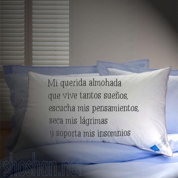 Mi querida almohada que vive tantos sue os im gen gratis - Almohadas buenas para dormir ...
