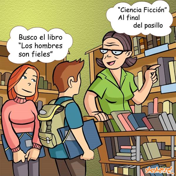 HUMOR ESCRITO Y GRÁFICO - Página 8 En_la_biblioteca