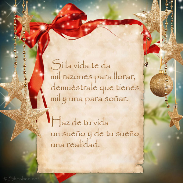 Imagen gratis con textos de fin de a o si la vida te da - Textos de felicitaciones de navidad y ano nuevo ...