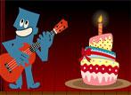 Músicos en cumpleaños